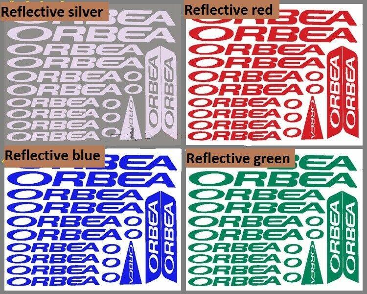 STAR SAM® STICKERS FRAME ORBEA MODEL 4 ADHESIVES STICKER FRAME DECALS BIKE