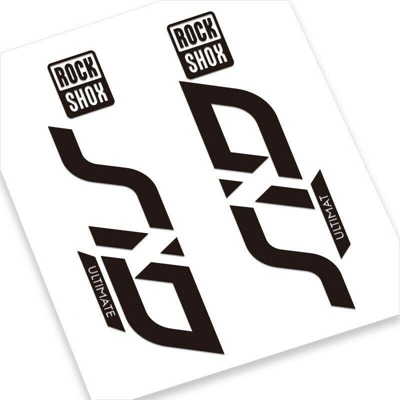 Rock Shox SID 2020 ULTIMATE Mountain Bike Cycling Decal Adhesive Sticker Gray