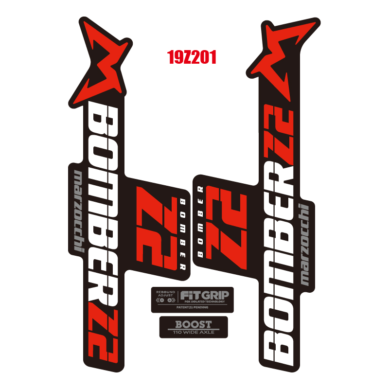 New 2018  FOX 40 Fork  Stickers Pack Decals  kit