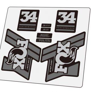 2020 FOX 32 SC Performance Fork Sticker Step-cast Mountain Bike Fox32 Decal
