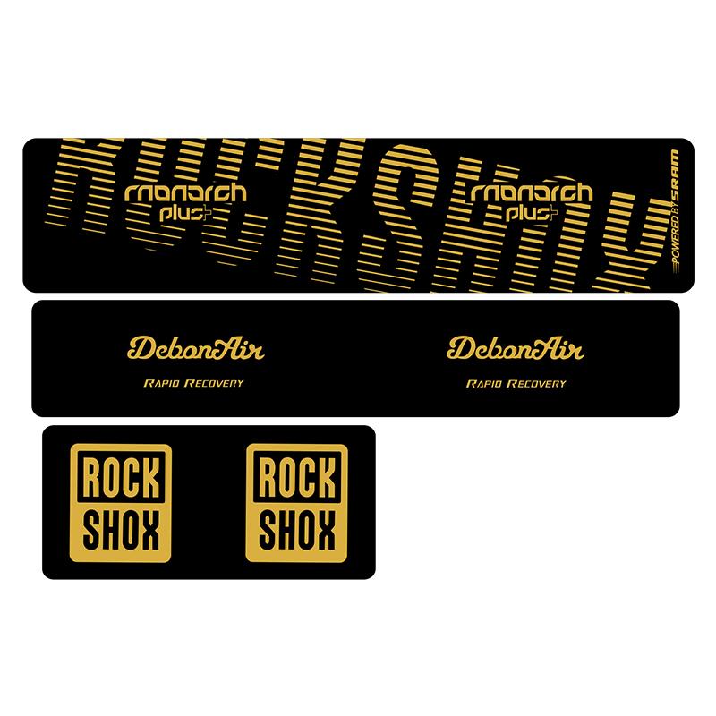 Rear Shock MTB Suspension Decal Sticker Oil Slick1 Rock Shox 2020 MONARCH Plus