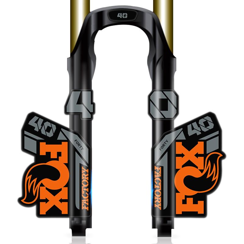 New custom FOX 40 fork stickers decals mtb bike