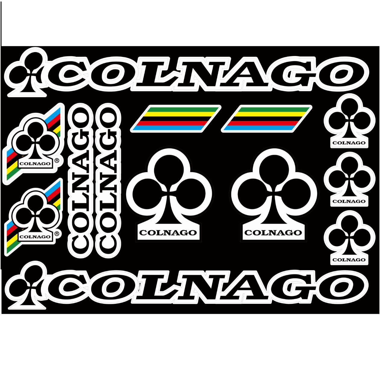 COLNAGO-Route de cadre de vélo Autocollants-Vinyl Decals